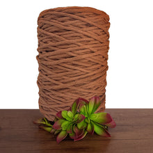 Rust Luxe Cotton Single Twist Macrame Cord 1kg