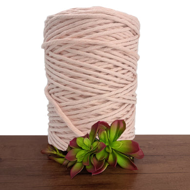Salmon Luxe Cotton Single Twist Macrame Cord 1kg
