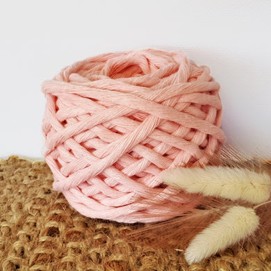 Lil' Luxe Cotton - 5mm Salmon - 25 metres