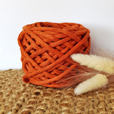 Lil' Luxe Recycled Cotton - 5mm Toffee - 25 metres