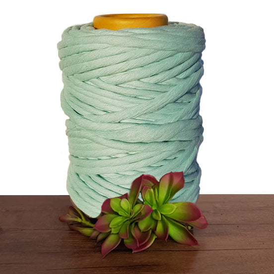 9mm Luxe Macrame Cotton - Mint