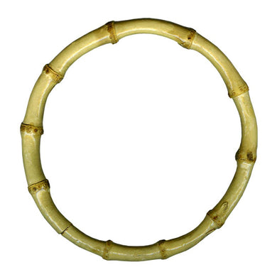 Natural Bamboo Macrame Ring - 15cm 6.25inch