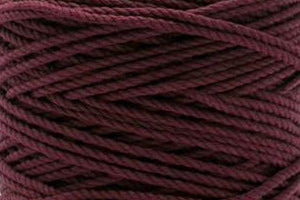 4mm 3 ply Cotton Macrame Rope - Boysenberry