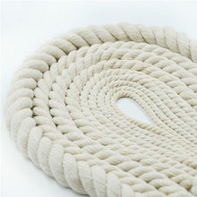 16mm 3 Ply Natural Cotton Macrame Rope