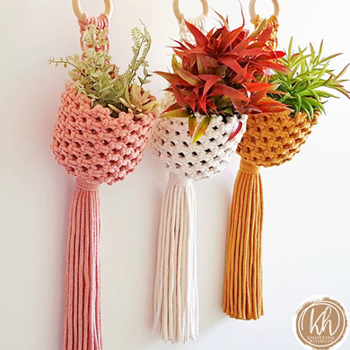 DIY Macrame Kit - Holly Planters