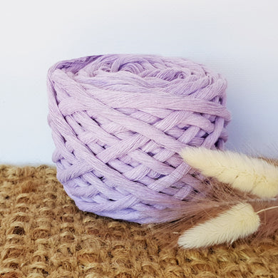 Lil' Luxe Cotton - 5mm Lavender - 25 metres