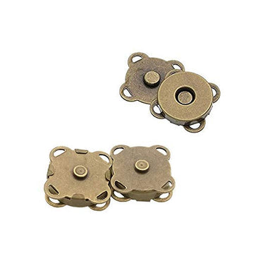 Magnetic Clasp - Sew On - 18mm Antique Bronze