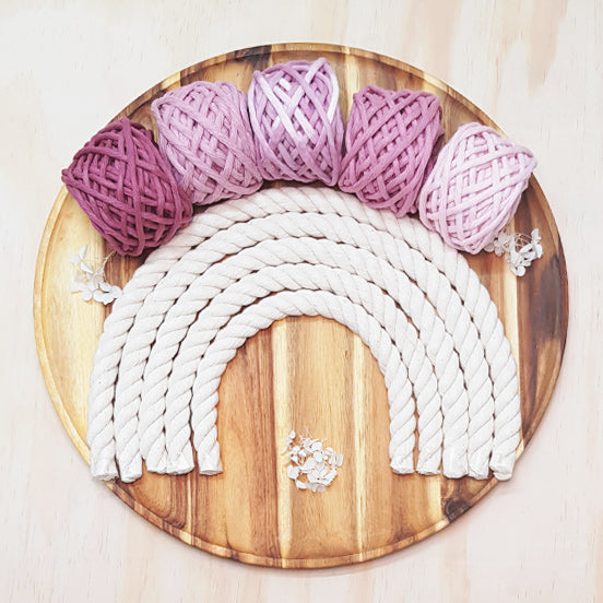 Lil' Luxe Cotton - 5mm Rose - 25 metres