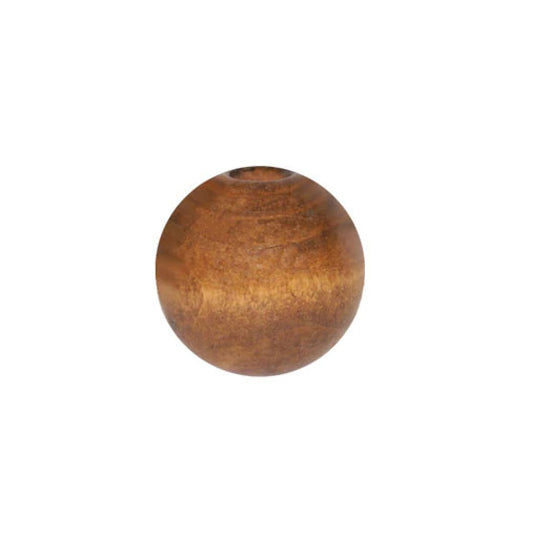 Wooden Bead - Round Maple 30mm Pack of 2