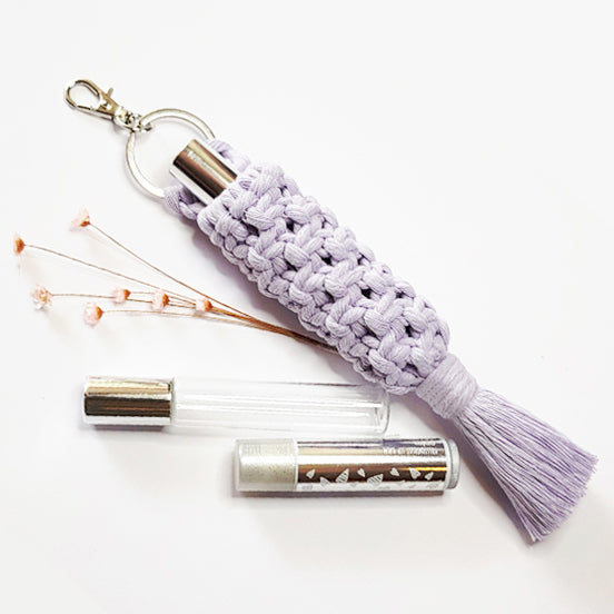 Pattern - Macrame Scent, Essential Oil Roller or Lip Balm Holder