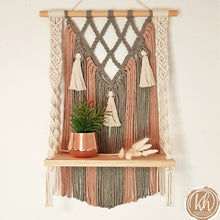 Maya Macrame Shelf