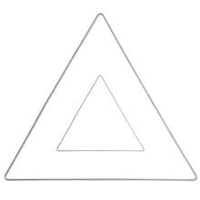 Metal Triangle Shape - Galvanised Wire