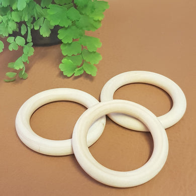 Wooden Rings - Pack of 3