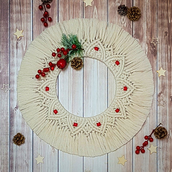 Pattern - Macrame Wreath