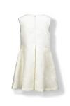 White Box Pleat Dress