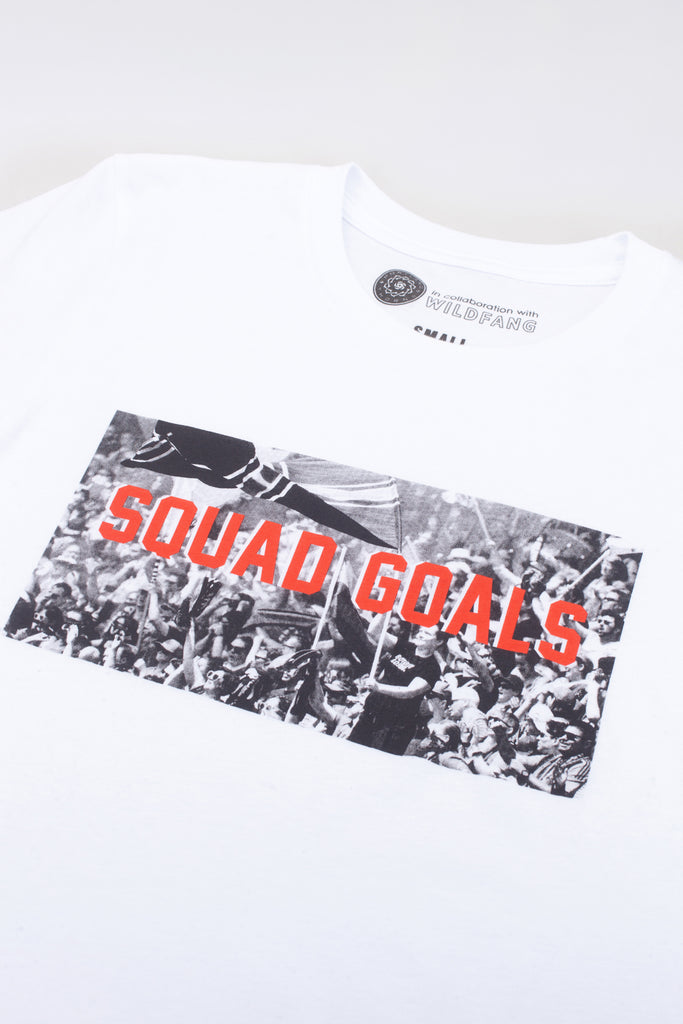 Portland Thorns FC Wildfang Squad Goals Tee - White