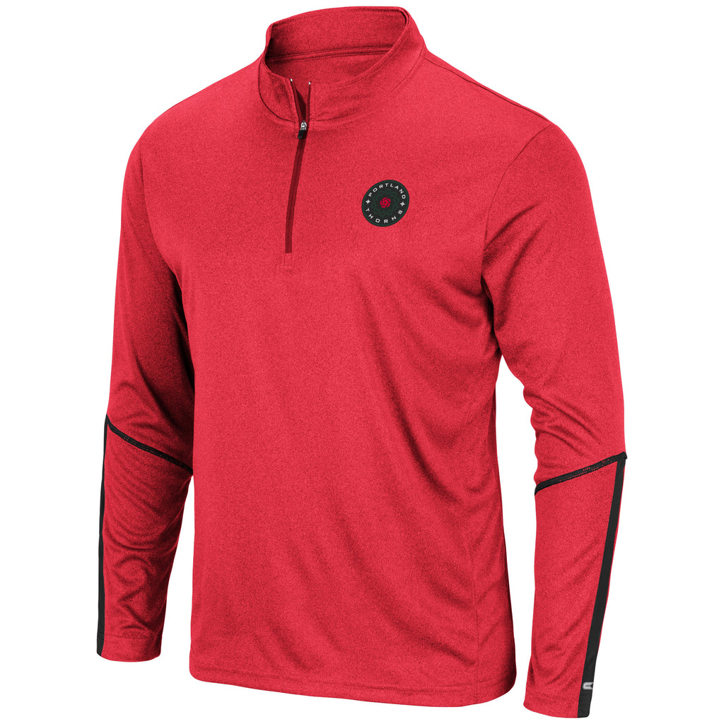 Portland Thorns FC Excavator 1/4 Zip Pullover - Red