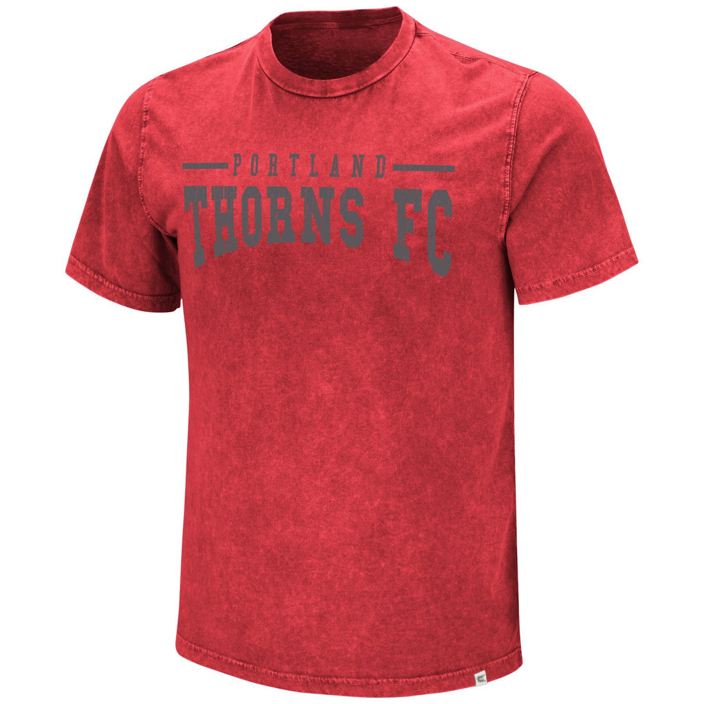 PORTLAND THORNS FC ACID WASH SHORT SLEEVE TEE