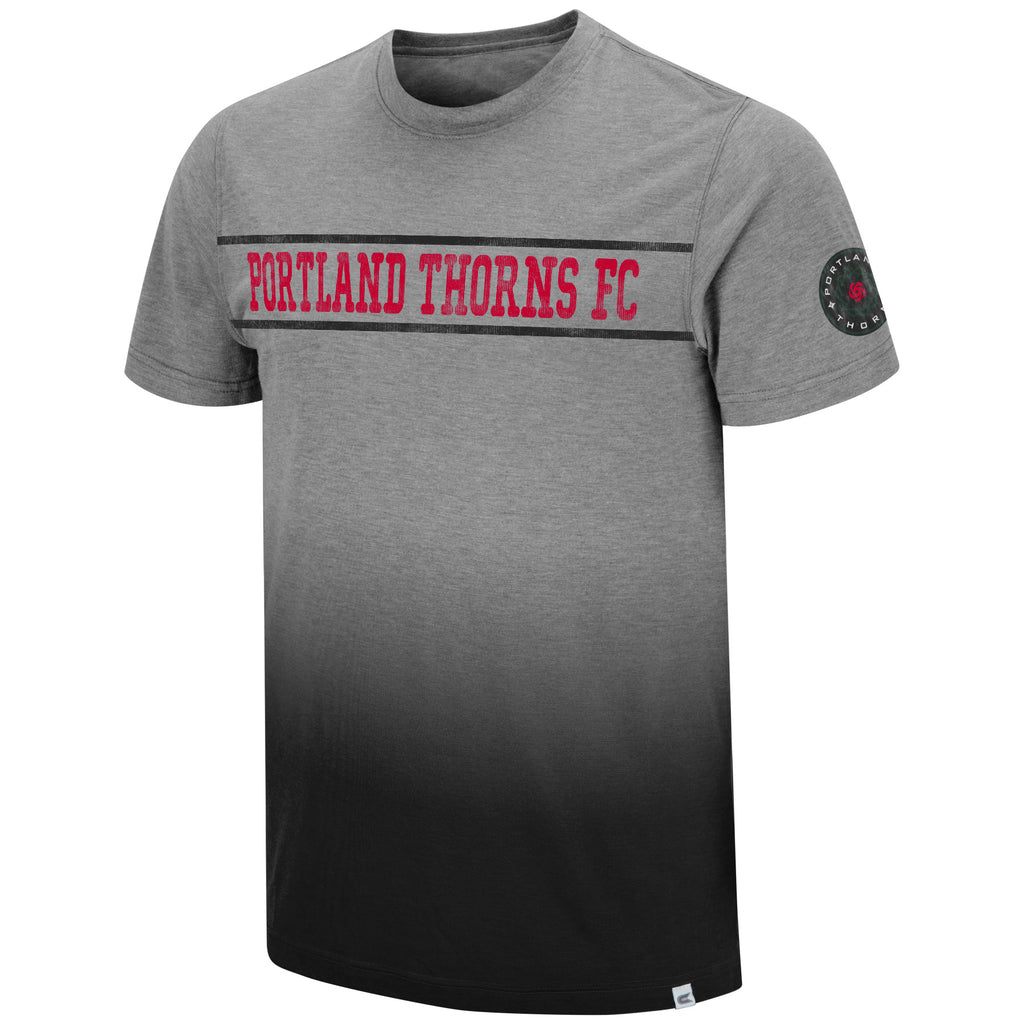 PORTLAND THORNS FC DIP DYE SHORT SLEEVE TEE 2.0