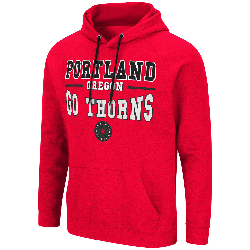 PORTLAND THORNS FC LONG SLEEVE PARKS PULLOVER HOODIE
