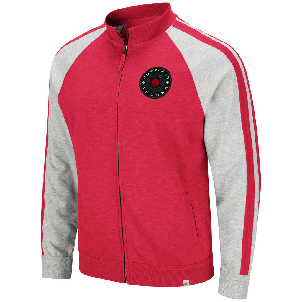 Portland Thorns FC Striped Arm Track Jacket - Red