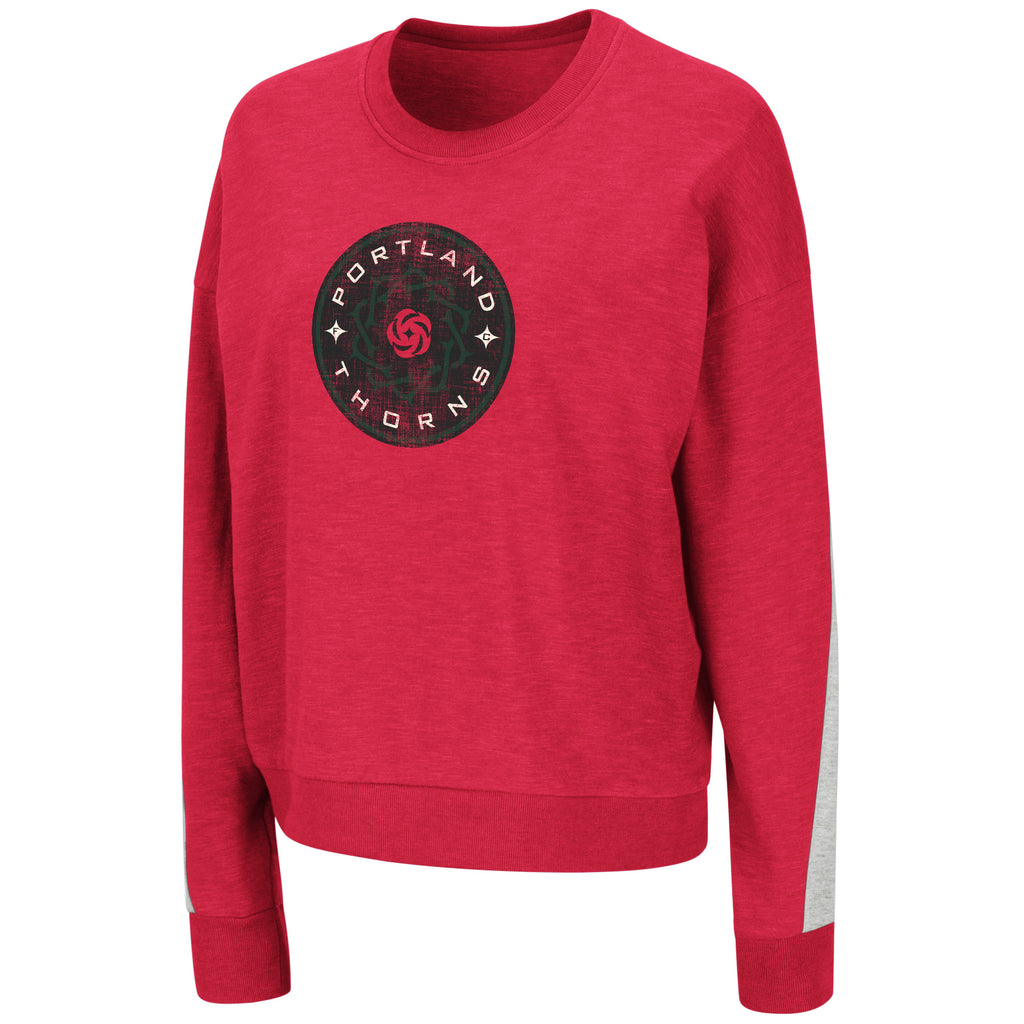 Portland Thorns FC Women's Dolman Pullover - Red