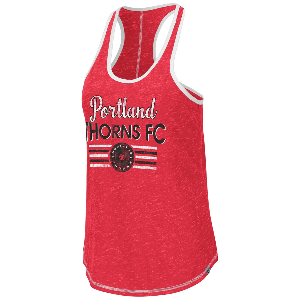 Portland Thorns FC Women's Tammy Racerback Tank - Red