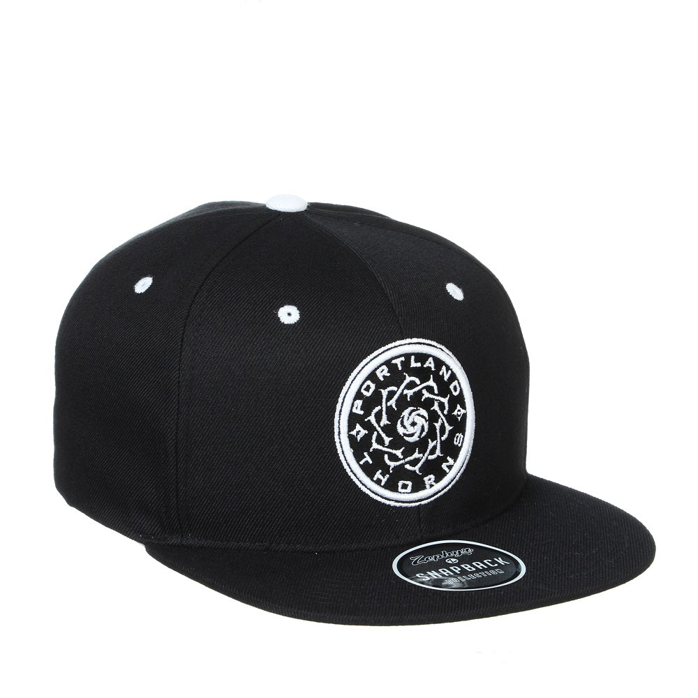 Portland Thorns Z11 Highlight Flat Brim Hat - Black