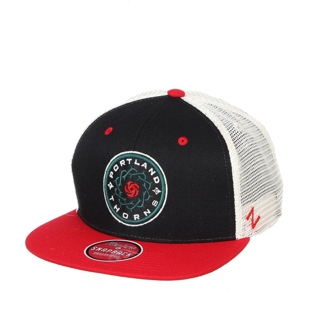 Portland Thorns Paradigm Mesh Back Hat - Black