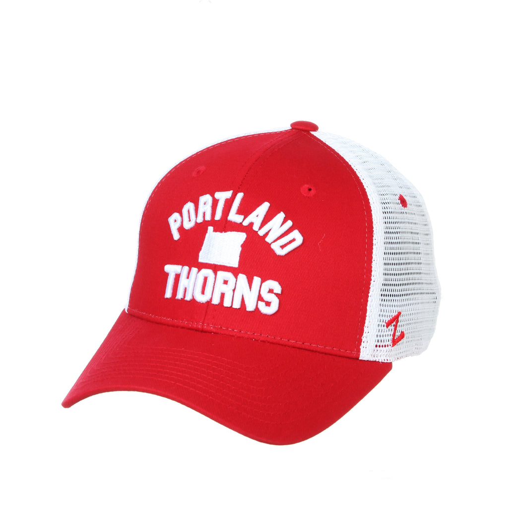 Portland Thorns Juncture Mesh Back Hat - Red