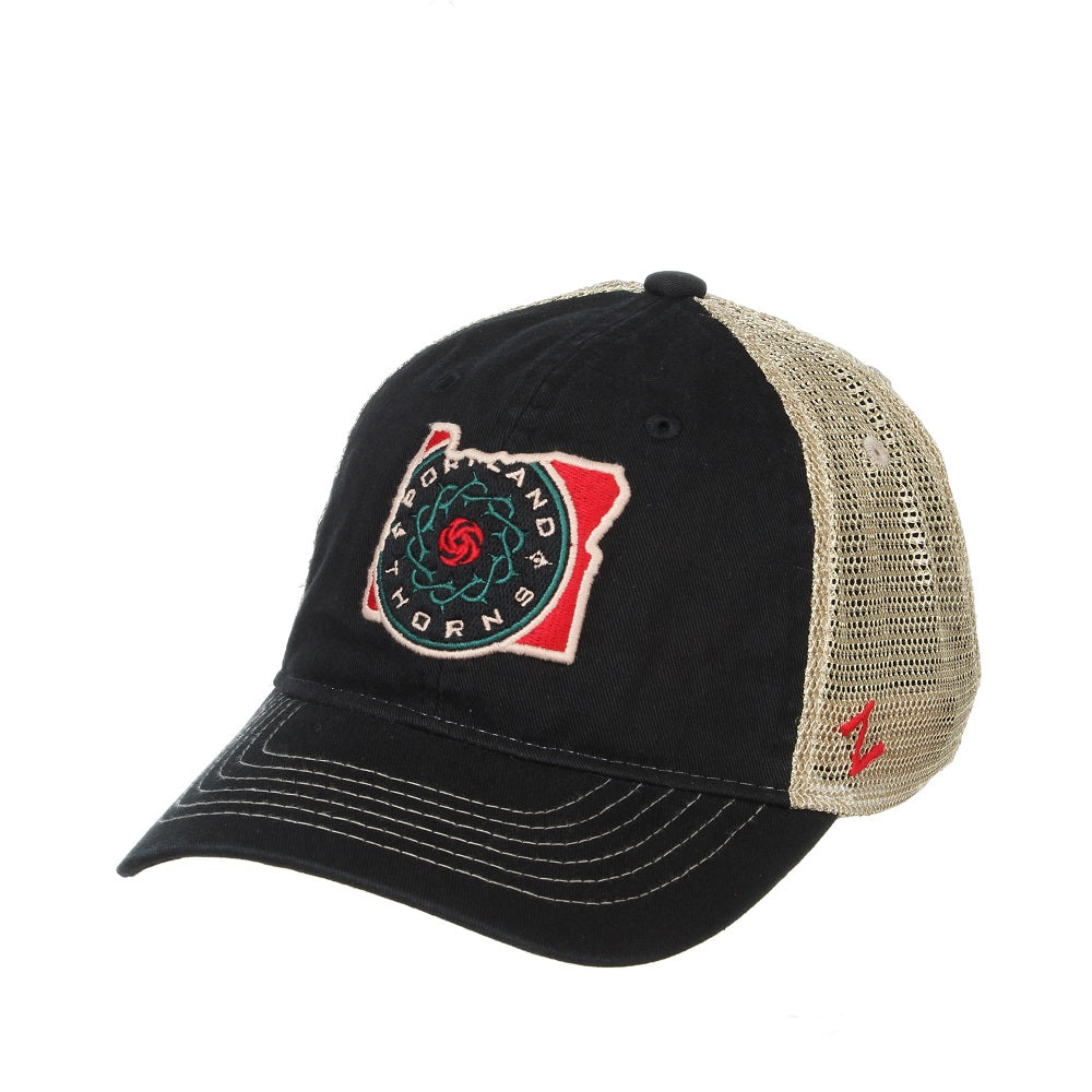 PORTLAND THORNS FC TERRITORY MESH BACK HAT