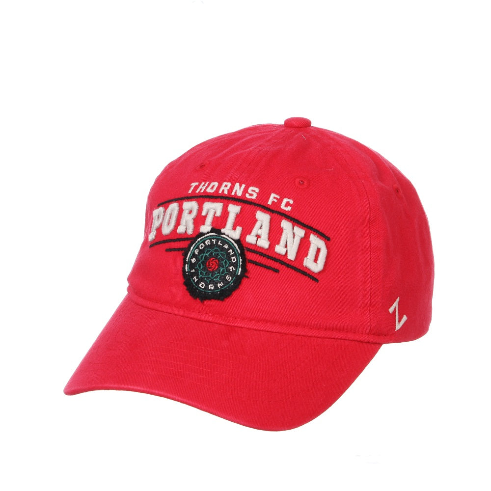 Portland Thorns Collegian Slouch Hat - Red