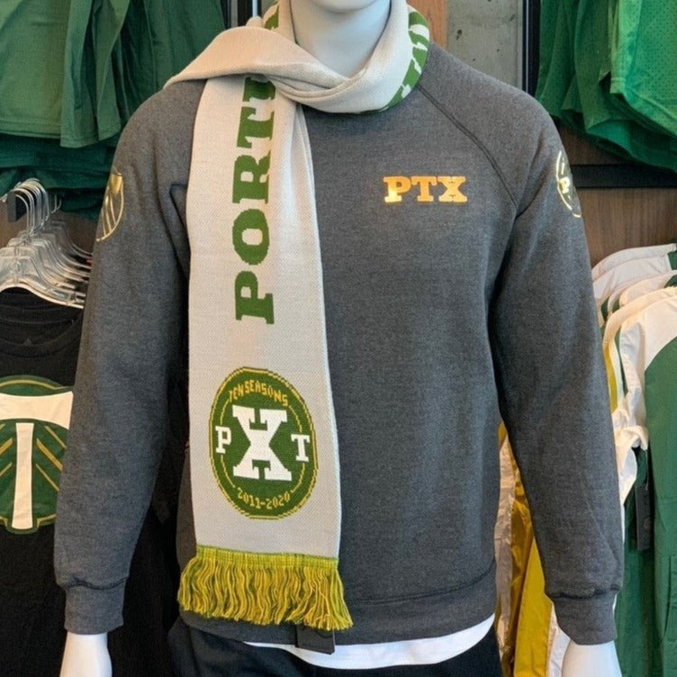 PORTLAND TIMBERS FC MEN'S 10TH ANNIVERSARY LONG SLEEVE CREW