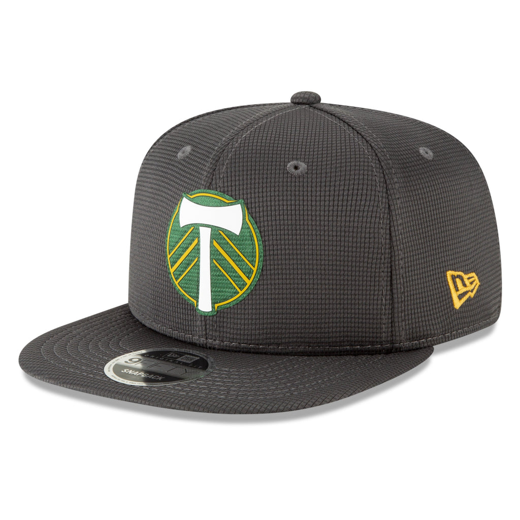 PORTLAND TIMBERS FC ON-FIELD GRAPHITE 9FIFTY