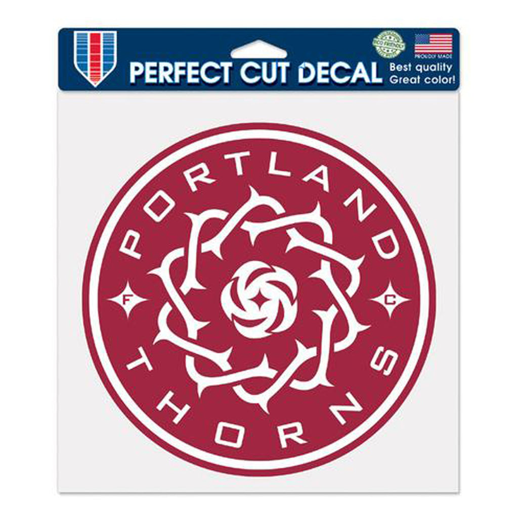 PORTLAND THORNS FC 8X8 DIE CUT DECAL