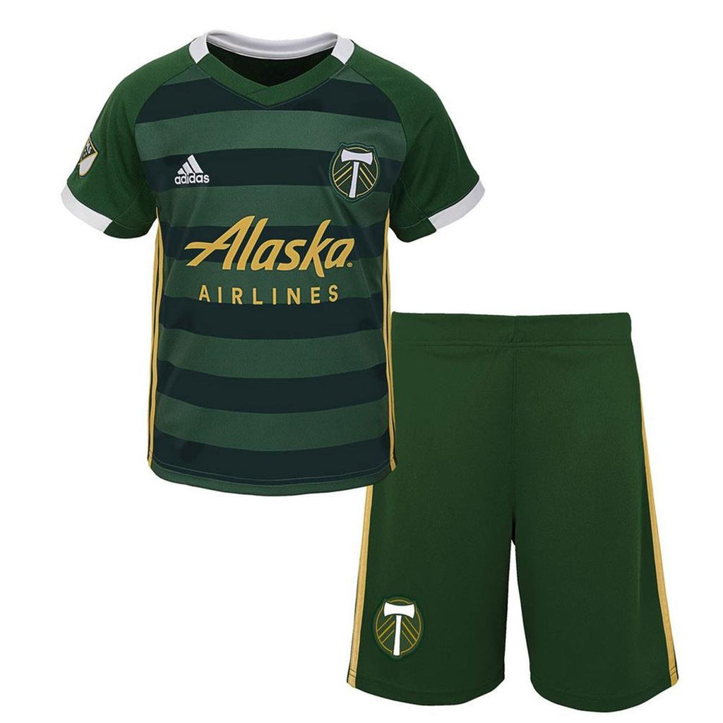 PORTLAND TIMBERS FC 2019-20 YOUTH SIZED JERSEY KIT