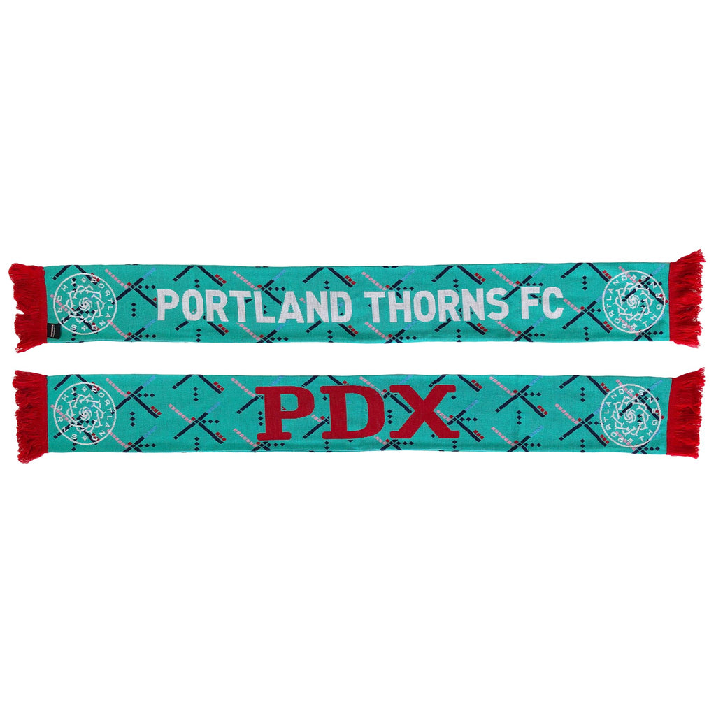Portland Thorns FC PDX Carpet Scarf - Aqua