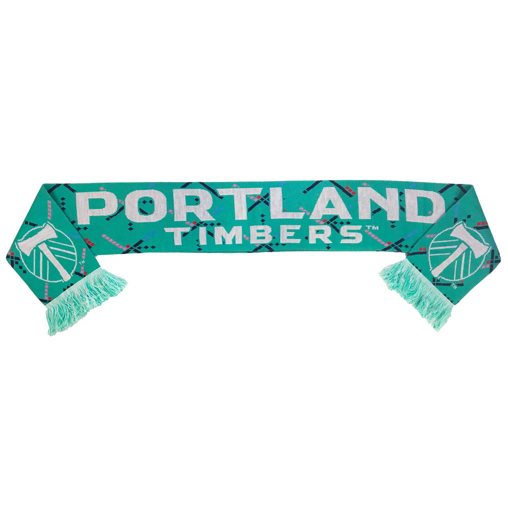 PORTLAND TIMBERS FC PDX CARPET SCARF