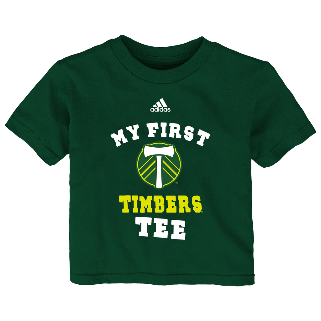 PORTLAND TIMBERS FC INFANT MY FIRST SHORT SLEEVE TEE
