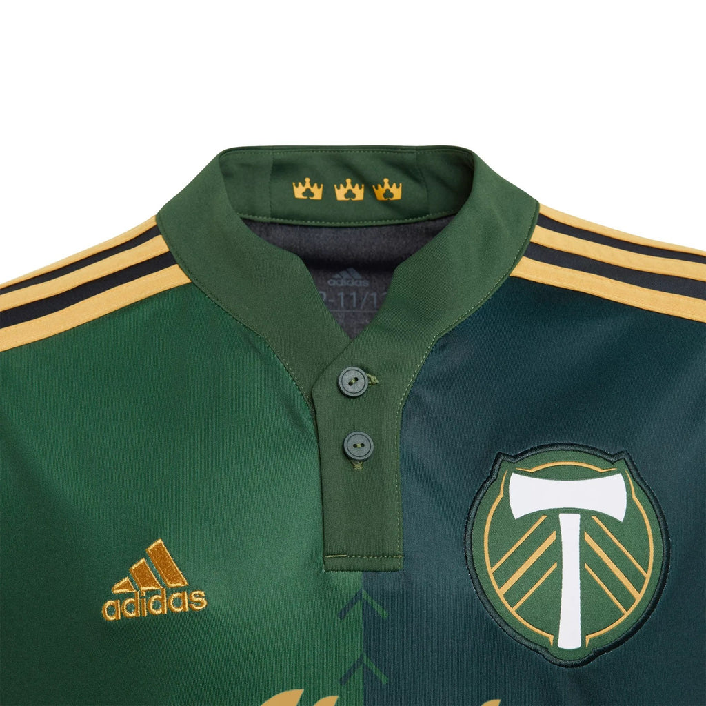 PORTLAND TIMBERS FC 2021-22 YOUTH PRIMARY JERSEY