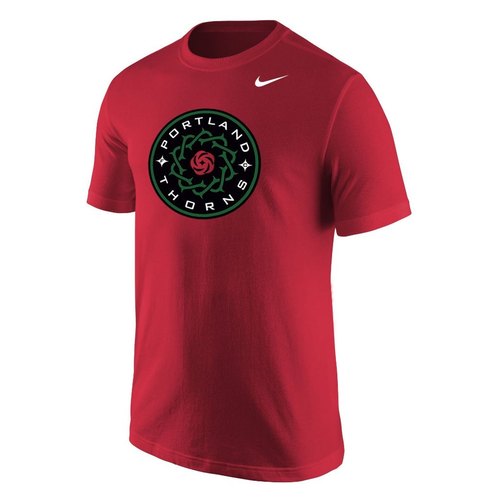 PORTLAND THORNS FC NIKE BASIC LOGO SHORT SLEEVE TEE
