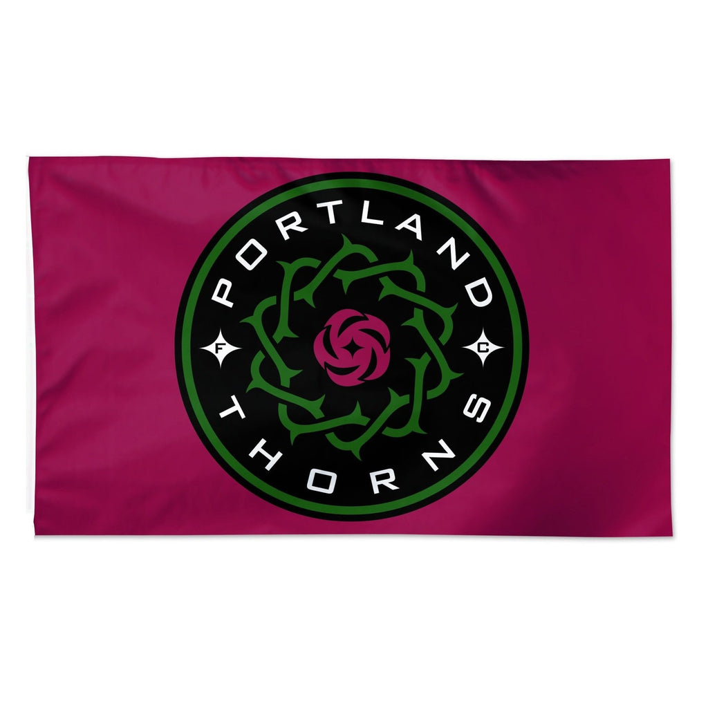 Portland Thorns FC Wincraft 3x5 Logo Flag - Red
