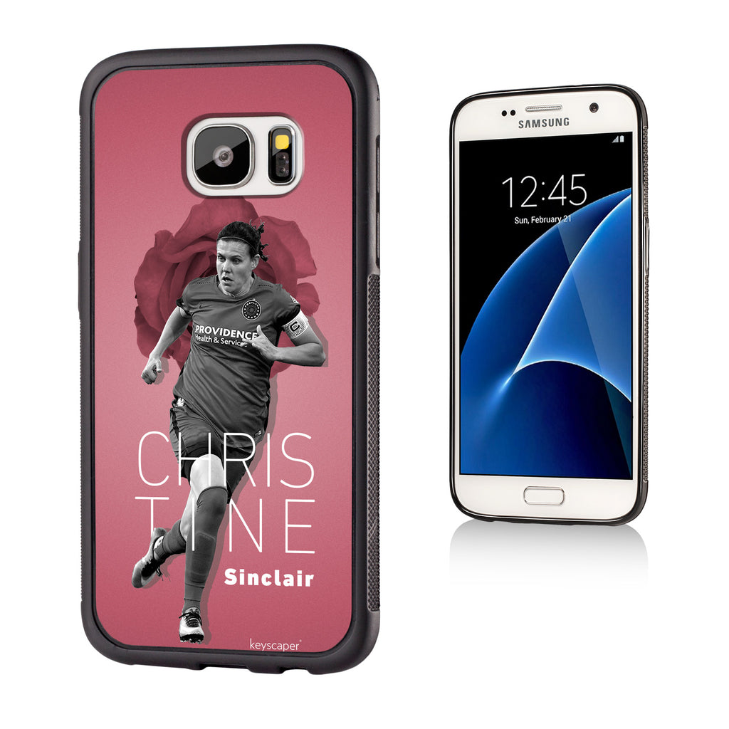 Portland Thorns FC Keyscaper Christine Sinclair Galaxy S7 Bump Case - FINAL SALE