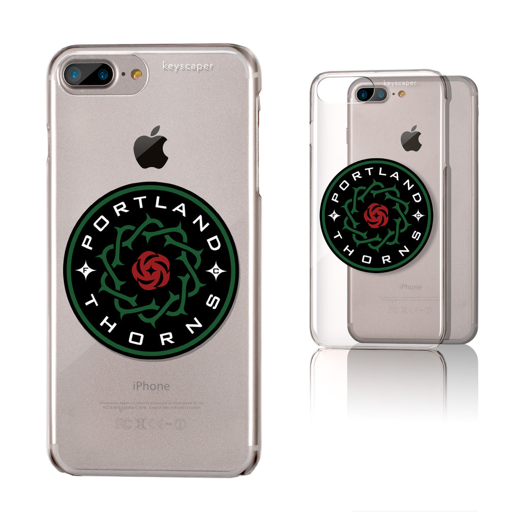PORTLAND THORNS FC LOGO IPHONE7+ CLEAR CASE