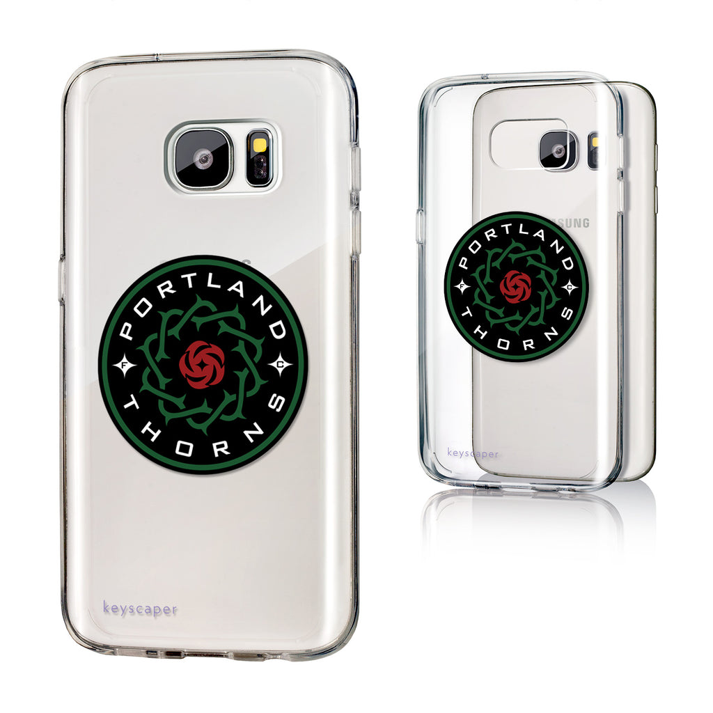 Portland Thorns FC Keyscaper Logo Galaxy S7 Clear Case - FINAL SALE