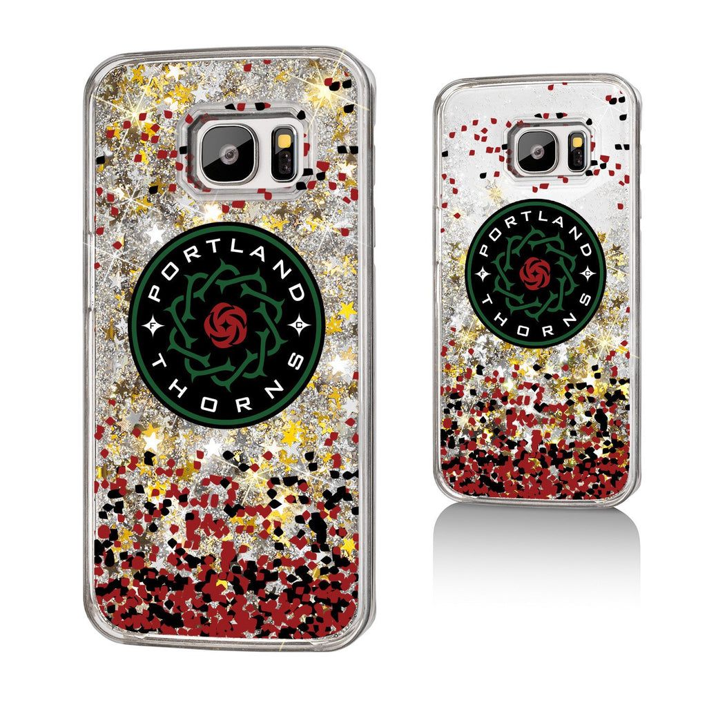 Portland Thorns FC Keyscaper Confetti Glitter Galaxy S7 Case - FINAL SALE