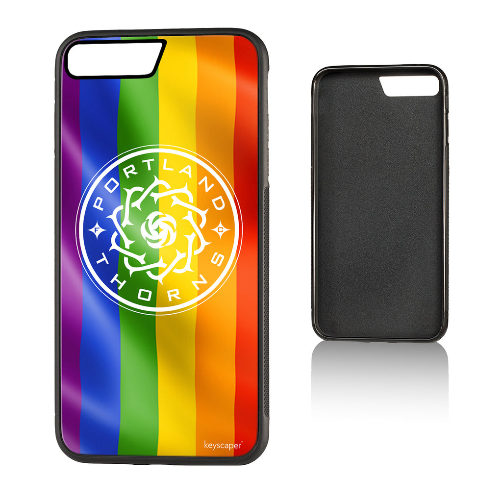 Portland Thorns FC Keyscaper Pride iPhone 7 Plus Bump Case - FINAL SALE