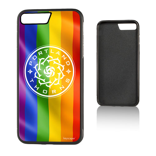 Portland Thorns FC Keyscaper Pride iPhone 7 Plus Bump Case