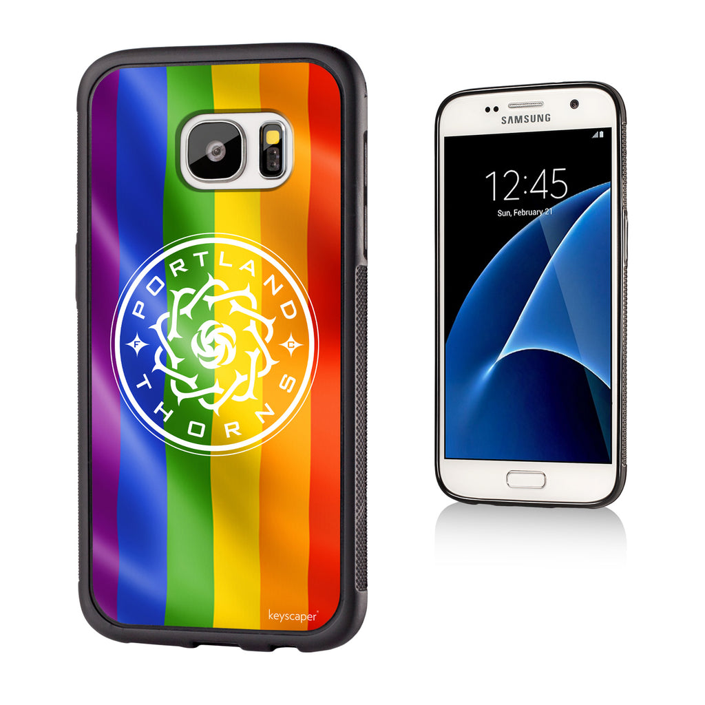 Portland Thorns FC Keyscaper Pride Galaxy S7 Bump Case - FINAL SALE