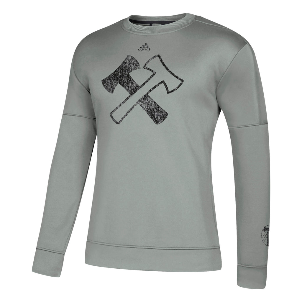Portland Stand Together Crew Sweatshirt - Grey